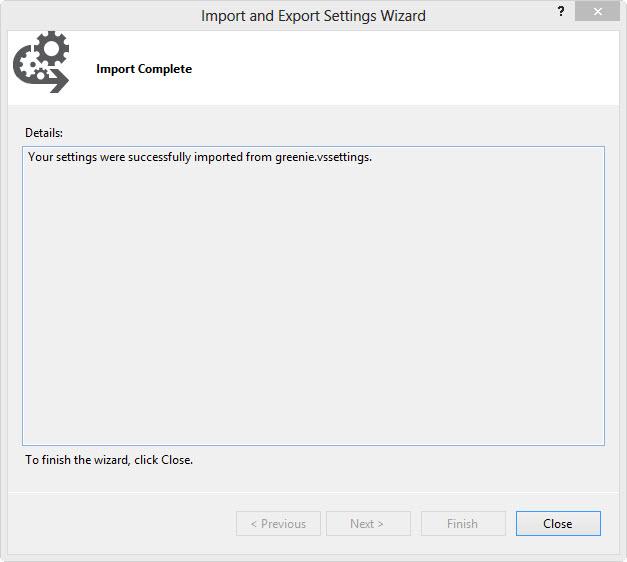 Import und Export Assistent #5
