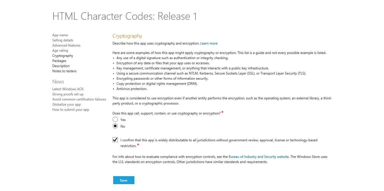 Verwendet eure App Kryptografie?