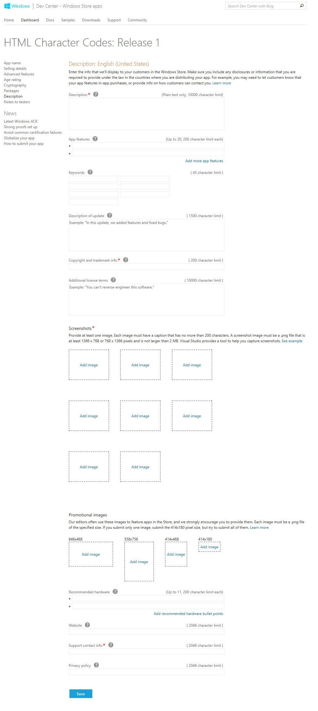 Beschreibung und Screenshots
