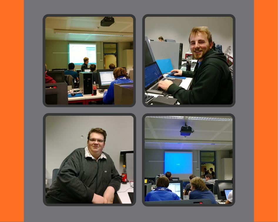 Impressionen des Hackathons in Karlsruhe